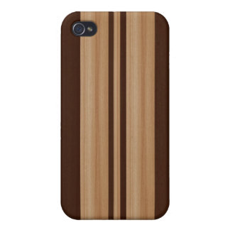Wood Surfboard  iPhone 4/4S Speck Case - Faux Wood iPhone 4 Covers