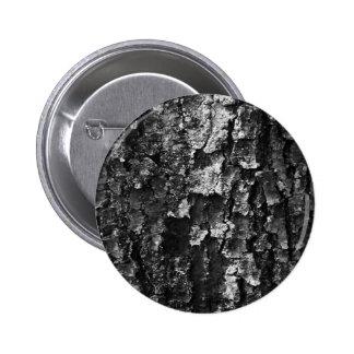 Wood texture 6 cm round badge