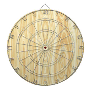 Wood texture background dartboard