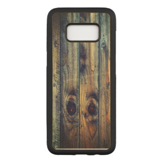 Wood Texture Cool Unique Carved Samsung Galaxy S8 Case