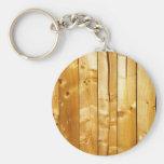 Wood Texture Keychain