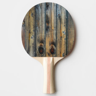Wood Texture Photo Cool Unique Ping Pong Paddle
