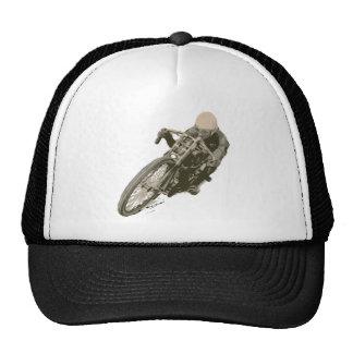 Wood Tracker Motordrome Board Racer Cap