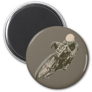Wood Tracker Motordrome Board Racer Magnet