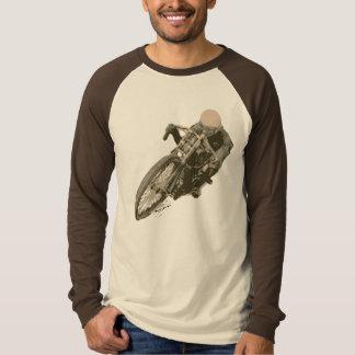 Wood Tracker Motordrome Board Racer T-Shirt