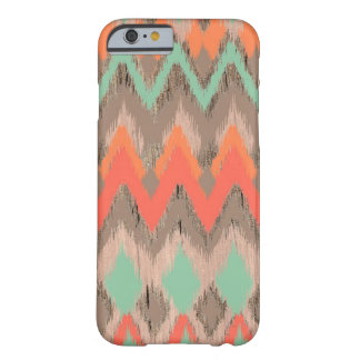 Wood tribal aztec chevron zig zag ikat pattern barely there iPhone 6 case