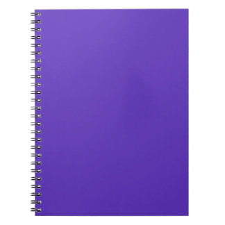 Wood Violet Purple 2015 Trend Color Template Notebooks