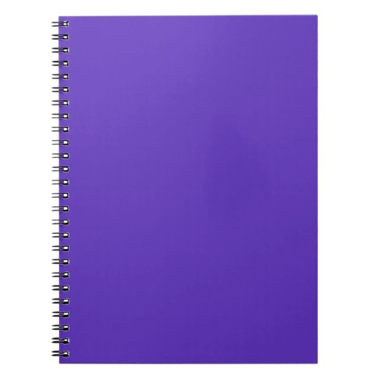 Wood Violet Purple 2015 Trend Colour Template Notebooks