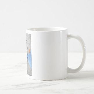 Wood Walking Basic White Mug