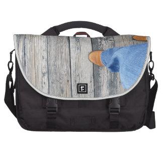 Wood Walking Commuter Bag
