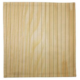 Wood wall texture printed napkins