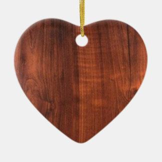Wood WALNUT finish BUY BLANK Blanc Blanche + TEXT Ornaments