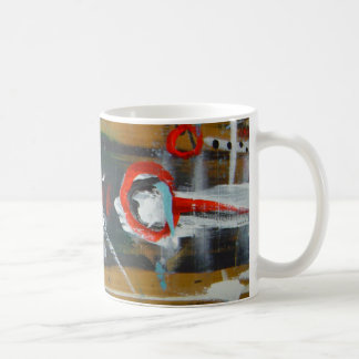 wood warrior basic white mug