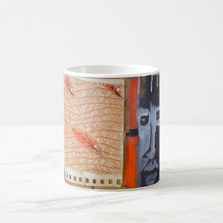 wood warrior basic white mug