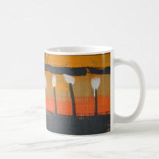 wood warrior classic white coffee mug