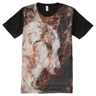 wood wolf All-Over print T-Shirt