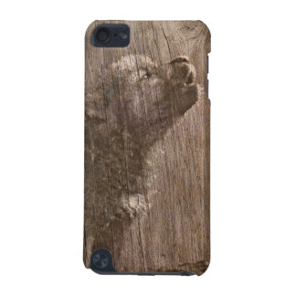 Wood Wolf Pup Art iPod Touch (5th Generation) Cover