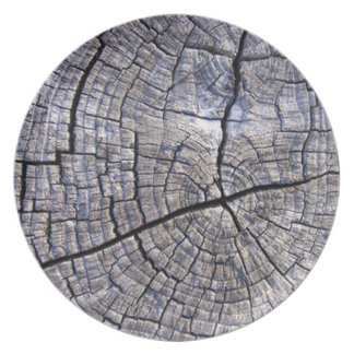 Wood Wooden Plate