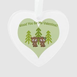 Wood You Be My Valentine Beavers