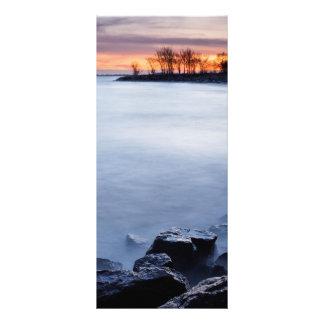 Woodbine Beach Toronto Ontario Canada at Sunrise Rack Card