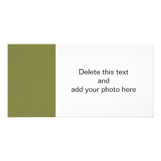 Woodbine Green High End Solid Color Picture Card
