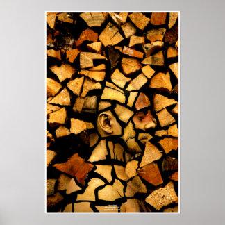 Woodblock by Johannes Stötter Poster