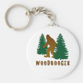 Woodbooger Basic Round Button Key Ring
