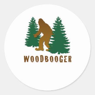 Woodbooger Sticker