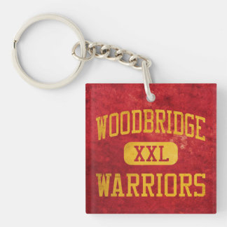 Woodbridge Warriors Athletics Acrylic Keychain