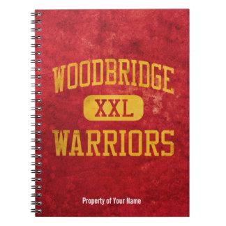 Woodbridge Warriors Athletics Note Book
