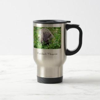 Woodchuck Whisperer 15 Oz Stainless Steel Travel Mug