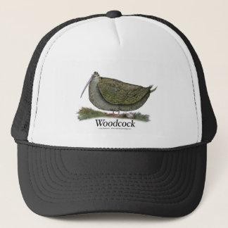 woodcock bird, tony fernandes trucker hat