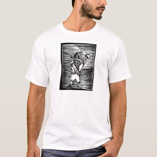 Woodcut Pirate T-Shirt