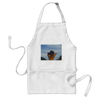 Wooded Black Bearswith  Blue Smoky Mountains Sky Apron
