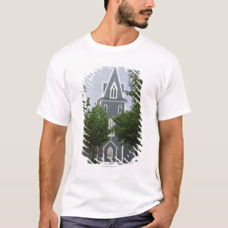 Wooded chapel, Newfoundland, Canada T-Shirt