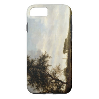 Wooded Landscape (oil on panel) iPhone 8/7 Case