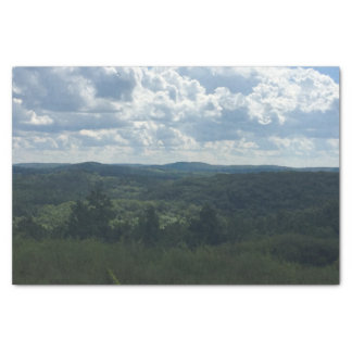 Wooded Landscape Tissue Paper