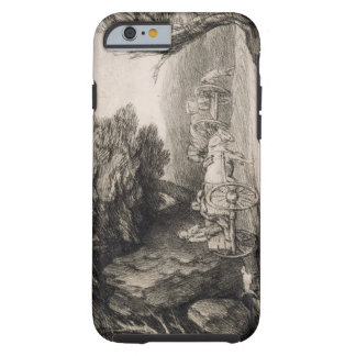 Wooded Landscape with Carts and Figures (etching o Tough iPhone 6 Case