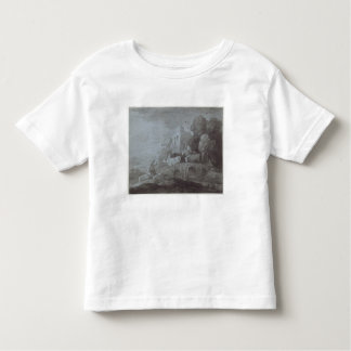 Wooded Landscape with Herdsman Driving Cattle (etc Toddler T-Shirt