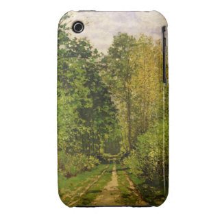 Wooded Path, 1865 (oil on canvas) iPhone 3 Cases