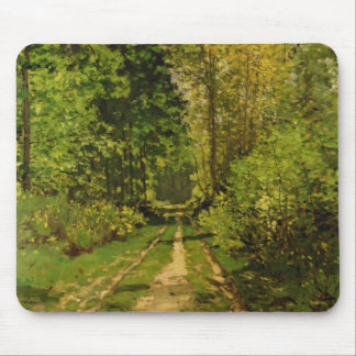 Wooded Path, 1865 (oil on canvas) Mouse Pad