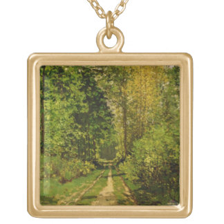 Wooded Path, 1865 (oil on canvas) Jewelry