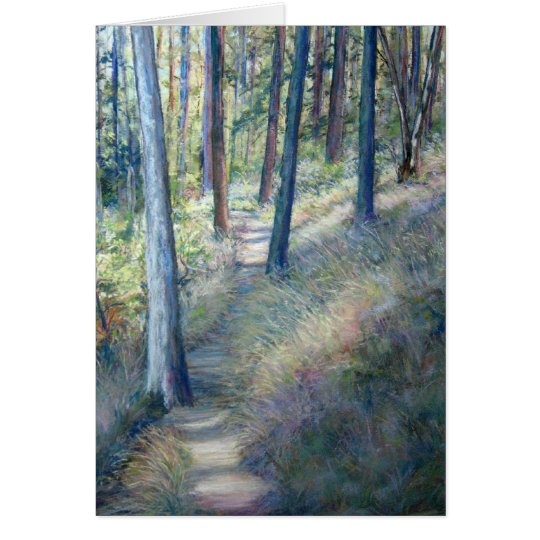 Wooded Path Card