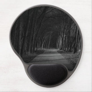 Wooded Path Gel Mouse Pad