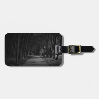 Wooded Path Tags For Luggage