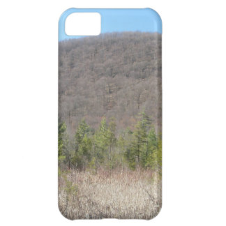 Wooded scenery with blue sky. iPhone 5C covers