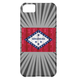 Wooden Arkansan Flag iPhone 5C Covers