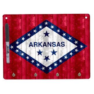 Wooden Arkansan Flag Dry-Erase Board