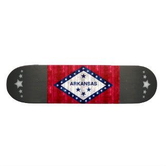 Wooden Arkansan Flag Custom Skate Board