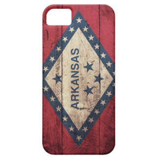 Wooden Arkansas Flag iPhone 5 Cases